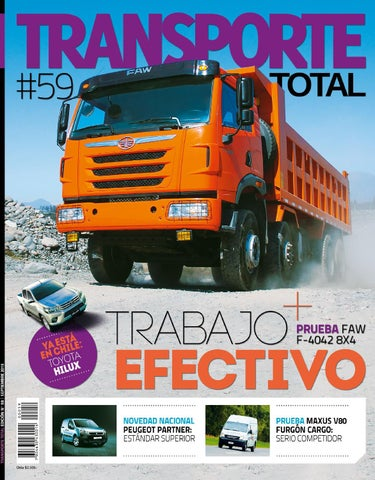 Revista Transporte Total Nº 59 (Septiembre 2015) by RS Chile - issuu