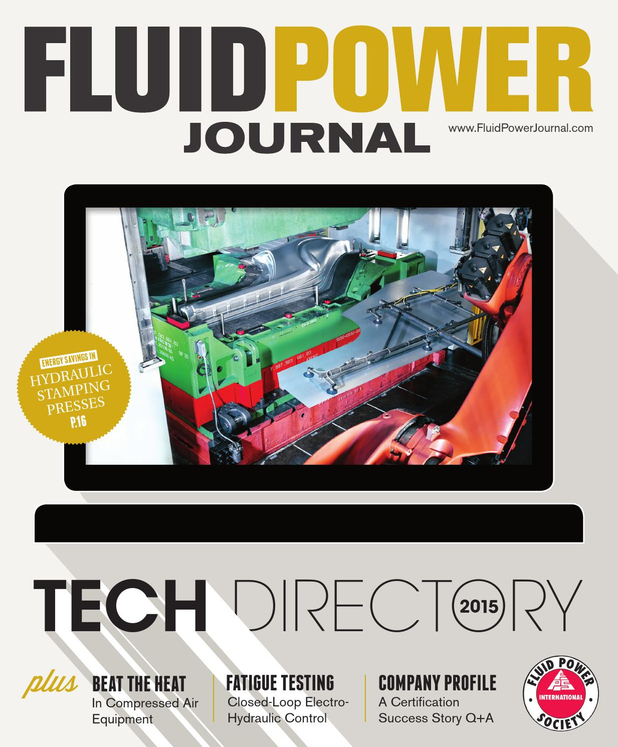 Fpjtd15 E By Innovative Designs Publishing Inc Issuu Simple Hydraulic Press How To Control Decompression In