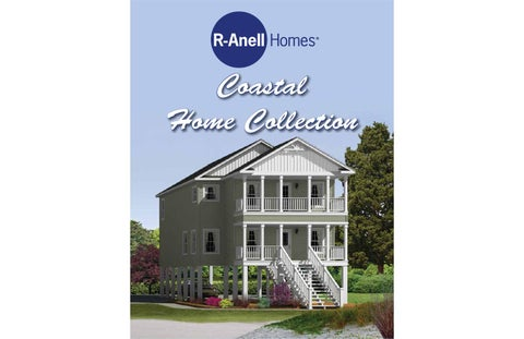 R Anell Homes Coastal Home Collection 2016 By The Commodore