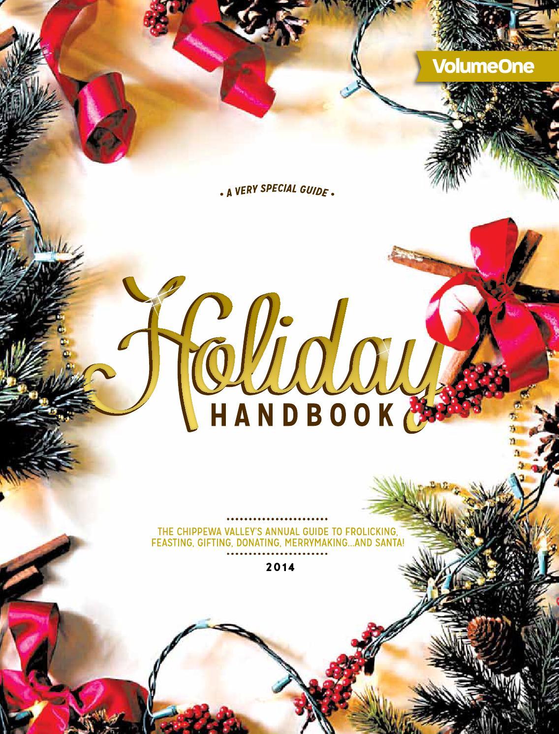 Holiday Handbook 2014 by Volume One Magazine - issuu