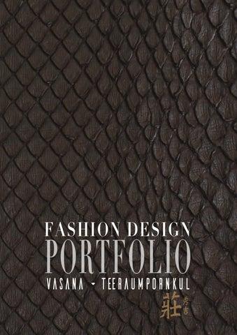 Vasana Teeraumpornkul Fashion Design Portfolio By Vasana Teeraumpornkul Issuu