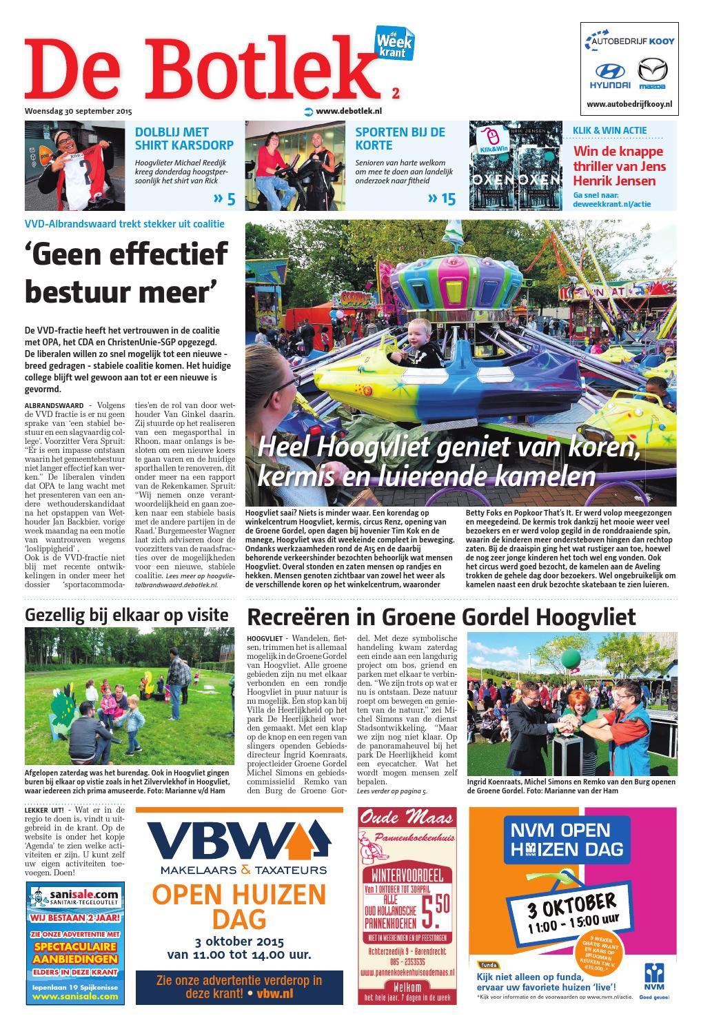 Botlek Hoogvliet En Albrandswaard Week40 By Wegener Issuu