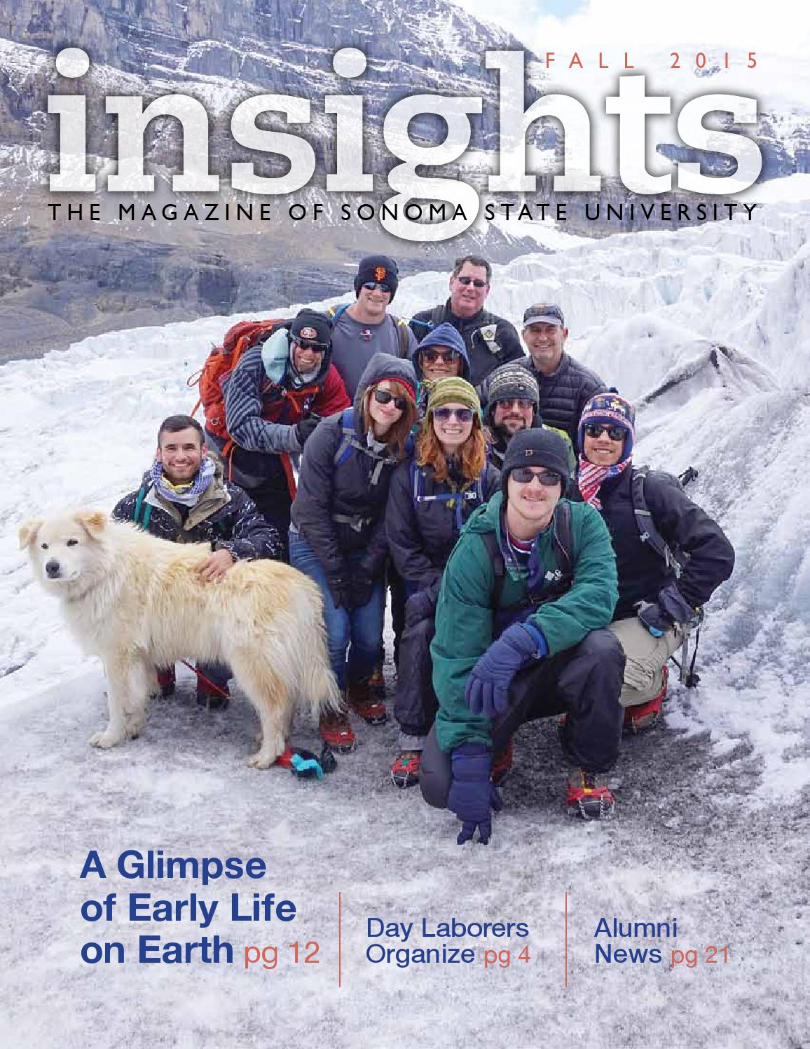 Sonoma State University Insights Fall 2015 by Insights: The