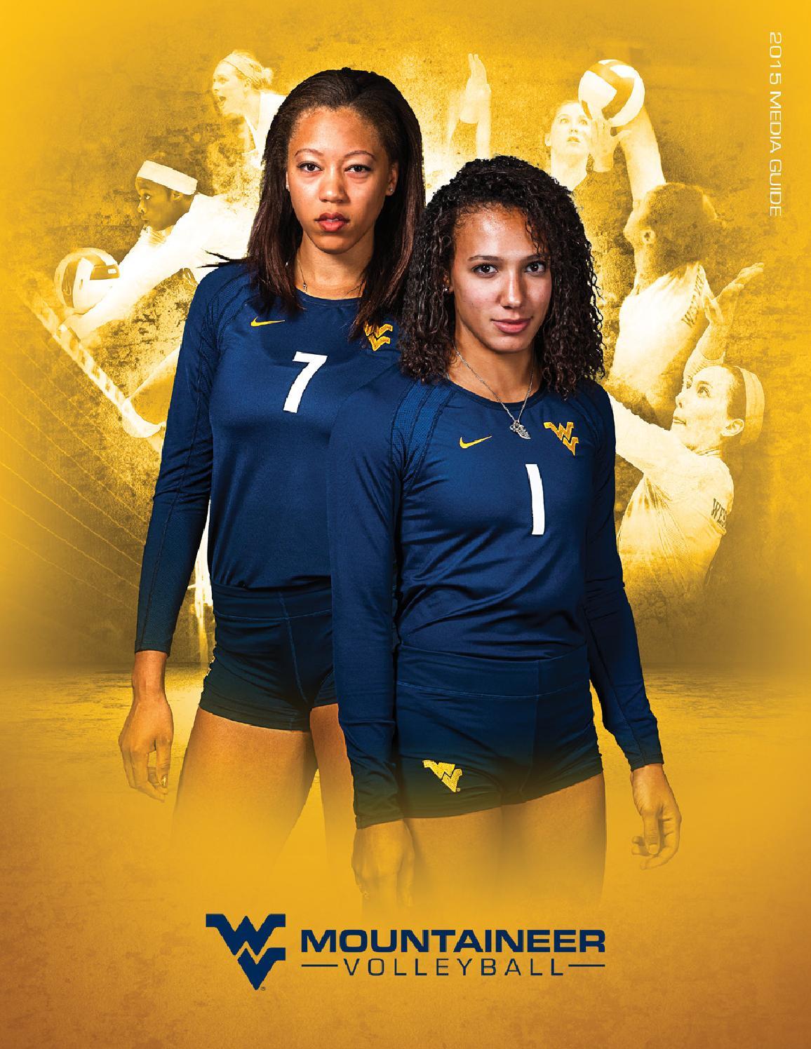 2015 West Virginia University Volleyball Guide by Joe Swan ...