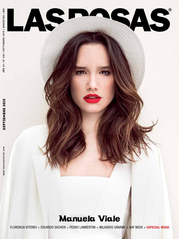 9671379debf Manuela Viale - Edición 226 by Revista Las Rosas - issuu
