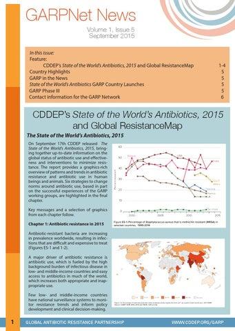 Gnn september 2015 by Center for Disease Dynamics, Economics