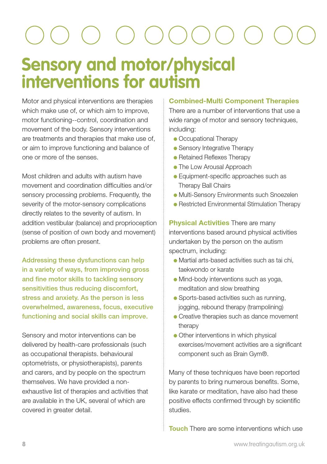 TREATING AUTISM GUIDE FOR PARENTS by Treating Autism - issuu