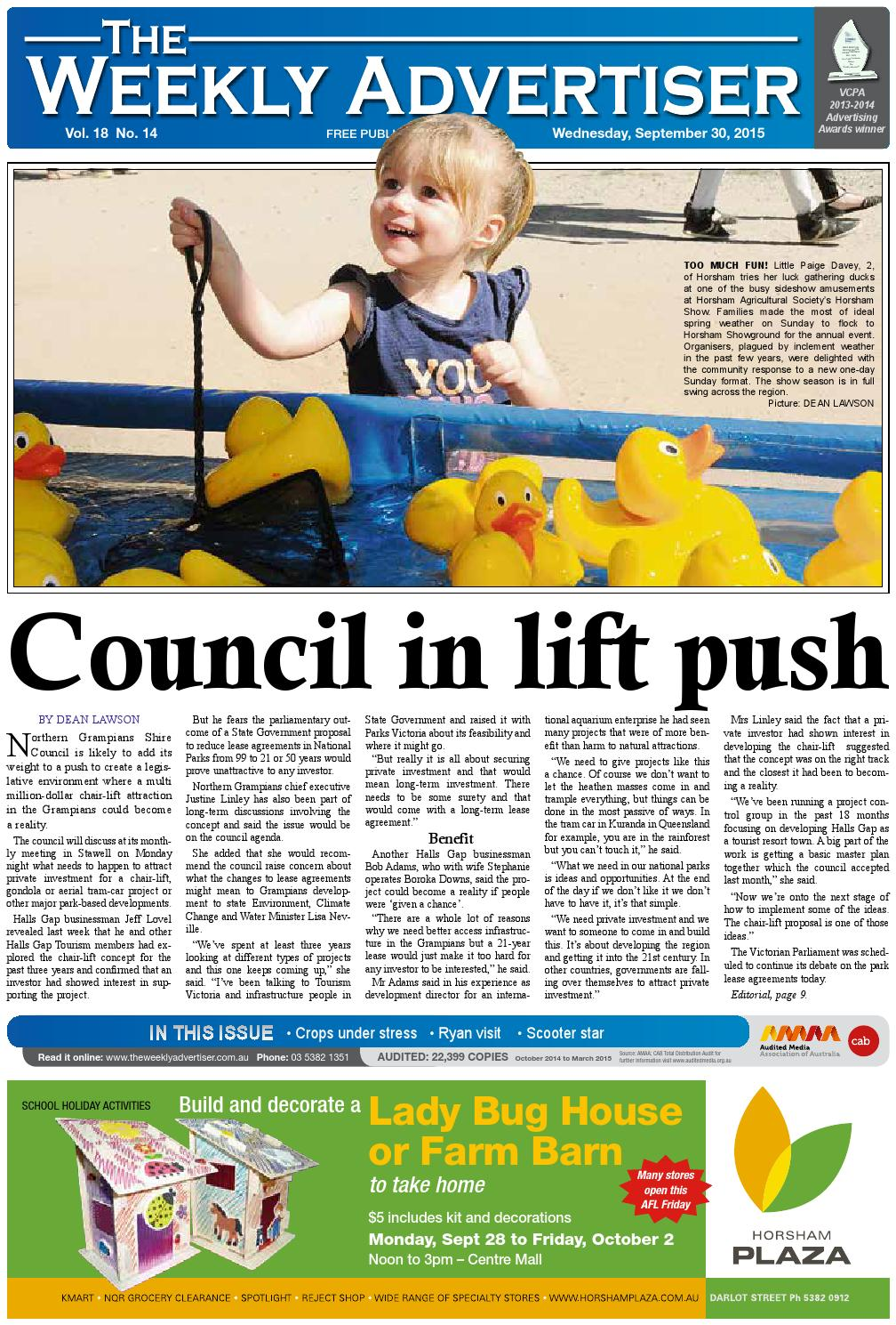 14af93b5d07 The Weekly Advertiser - Wednesday