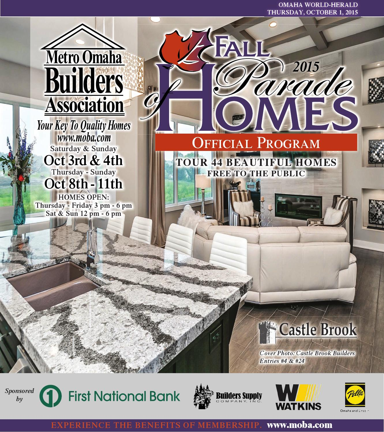 fall parade of homes 2015 by omaha world herald issuu