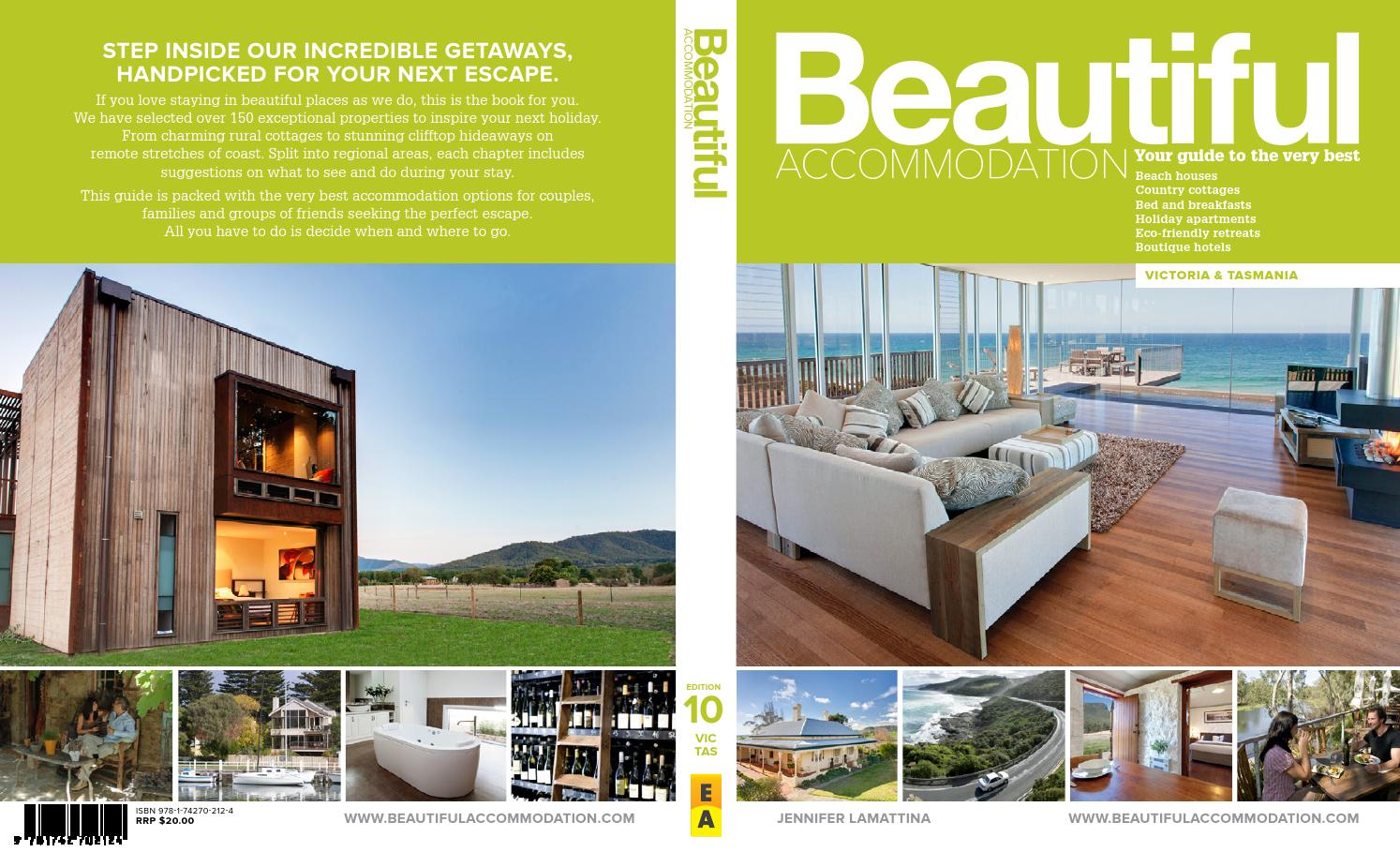 Beautiful Accommodation in Victoria and Tasmania by Simon St John