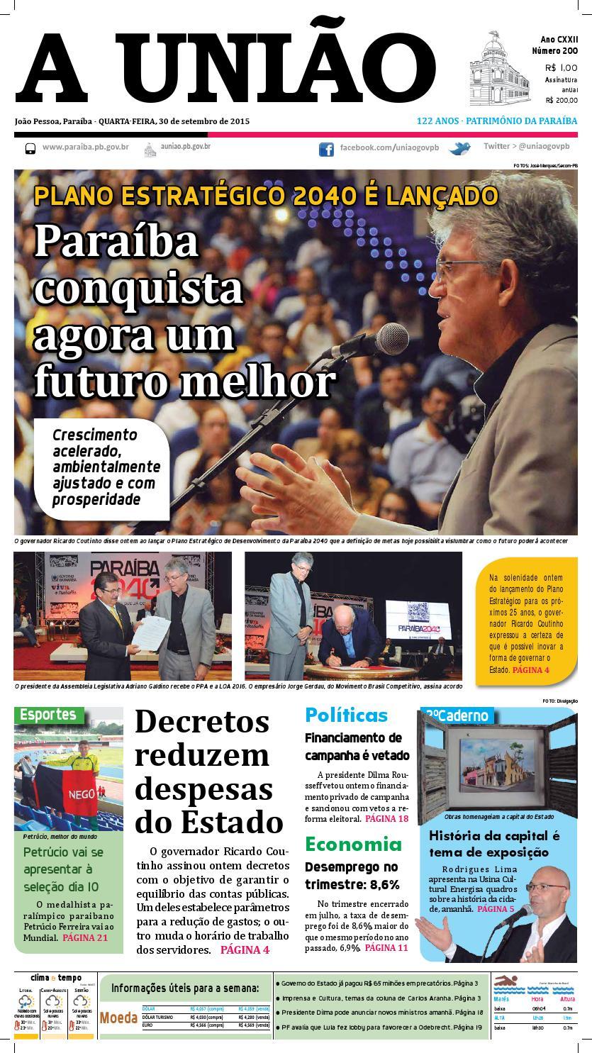 Jornal A União - 30 09 2015 by Jornal A União - issuu f946d0ab84b44
