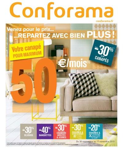 Conforama catalogue 18novembre 27decembre2015 by PromoCatalogues ...