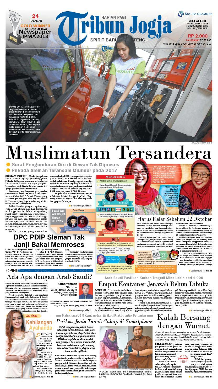 Tribunjogja 29 09 2015 By Tribun Jogja Issuu Stella Aerosol Apple 250ml Pengiriman Khusus Pulau Jawa Dan Pontianak