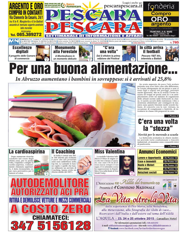 PescaraPescara n° 705 30 09 2015 by PescaraPescara - issuu 15e3d14a0a4