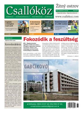 d89102bcfe Csallóköz - 2015/36.szám by Csallokozonline SK - issuu