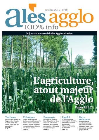 Alès agglo n°28 - Octobre 2015 by Alès Agglomération - issuu 18e7a7e1d1d