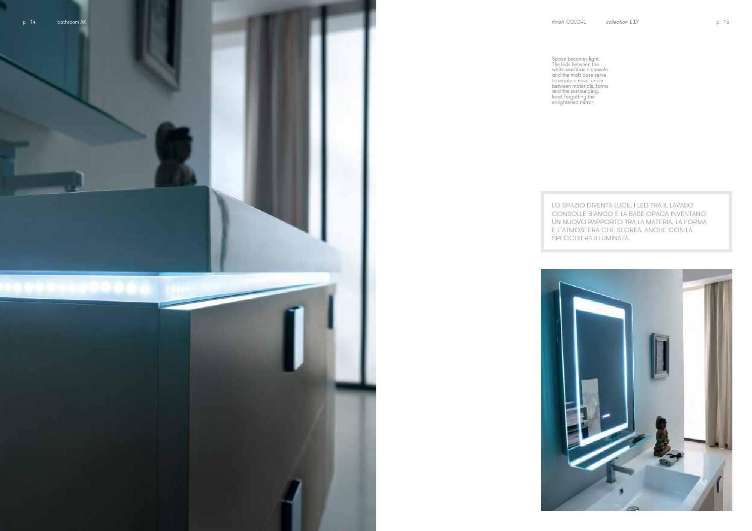 Mia porta scorrevole ante a specchio matt modern design cm