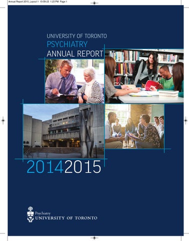Annual Report 2014 2015 By Psych Web Issuu