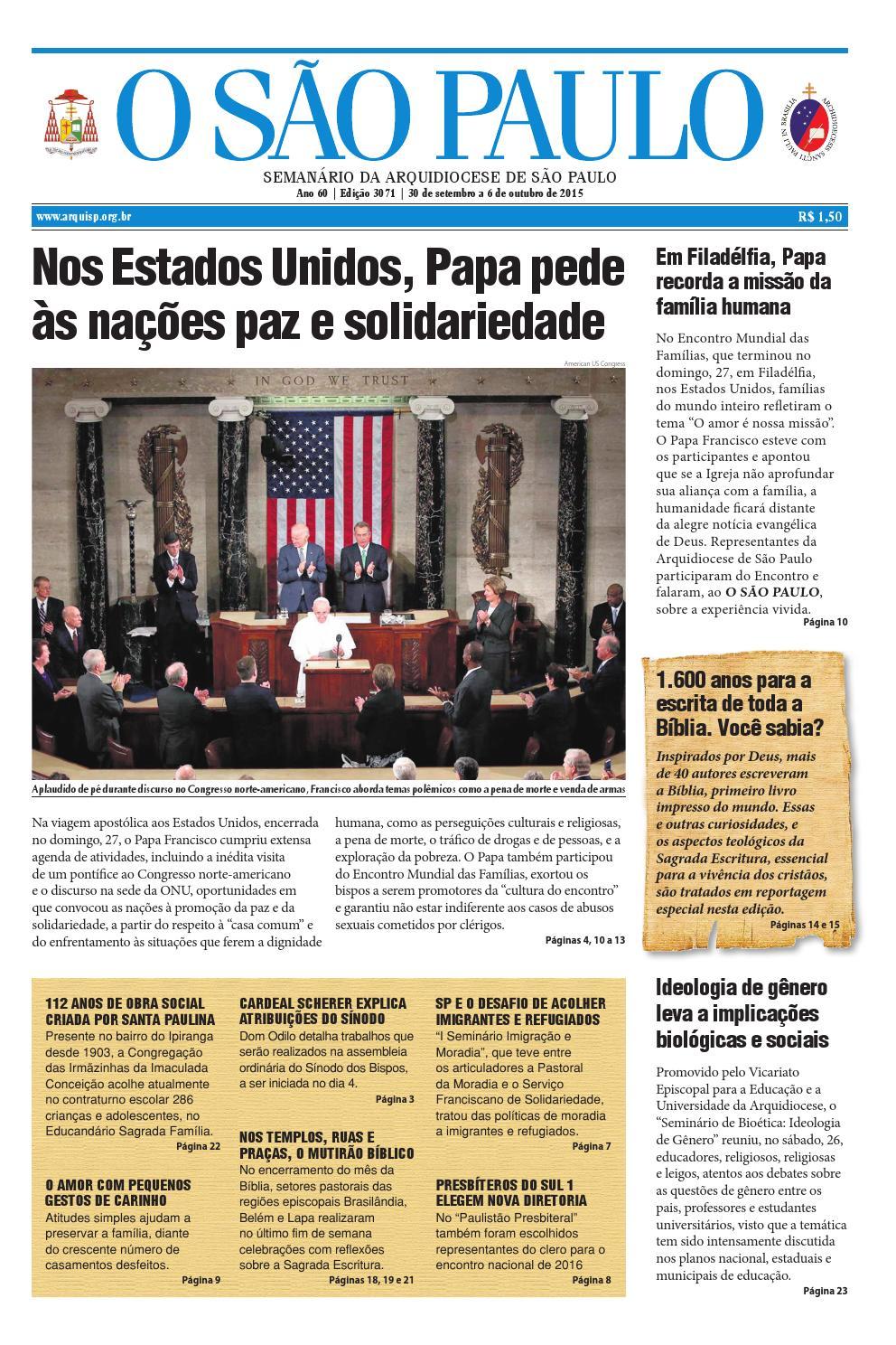 1d6d755a1c O SÃO PAULO 3071 by jornal O SAO PAULO - issuu