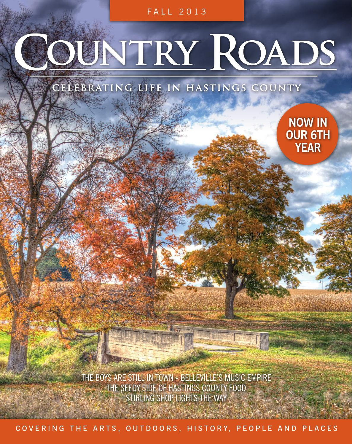 COUNTRY ROADS, Celebrating Life in Hastings County, FALL