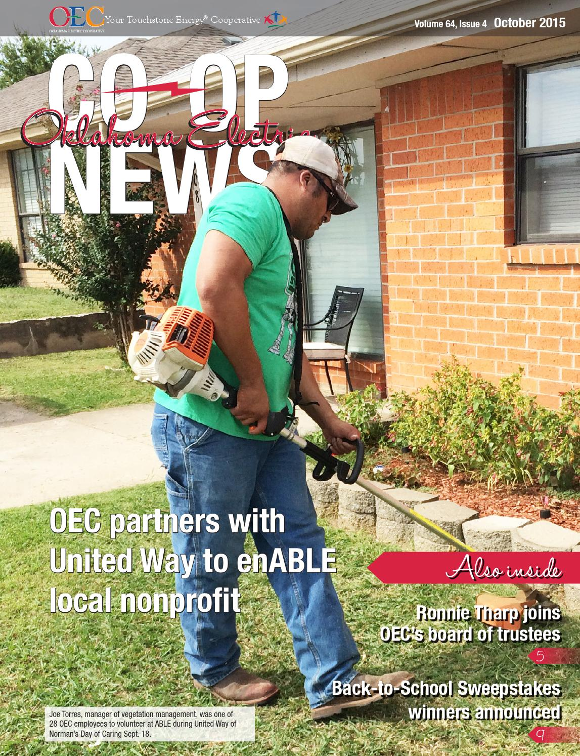Oklahoma Electric Co Op News October 2015 By Oklahoma