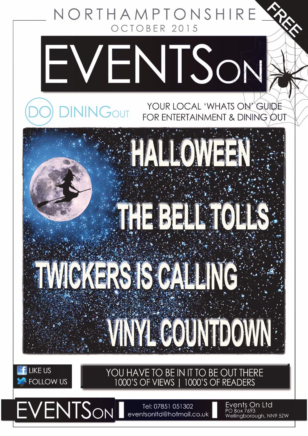 Events On October 2015 Northamptonshire By Eventson Issuu