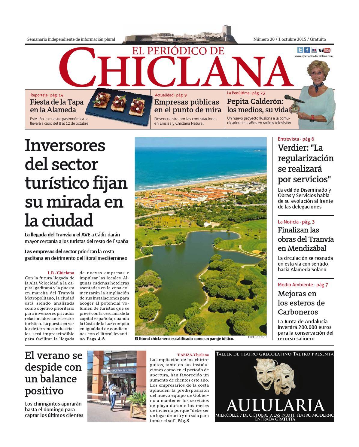 El Periódico de Chiclana nº20 by El Periódico de Chiclana - issuu
