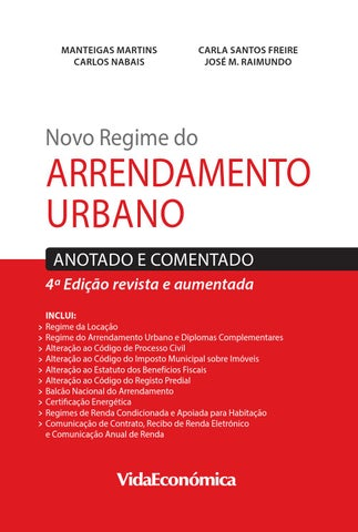 Novo regime do arrendamento urbano by vida econ mica issuu for Piso xose novo freire