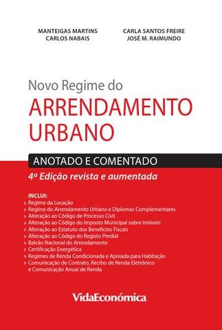 Novo Regime Do Arrendamento Urbano By Vida Econ Mica Issuu