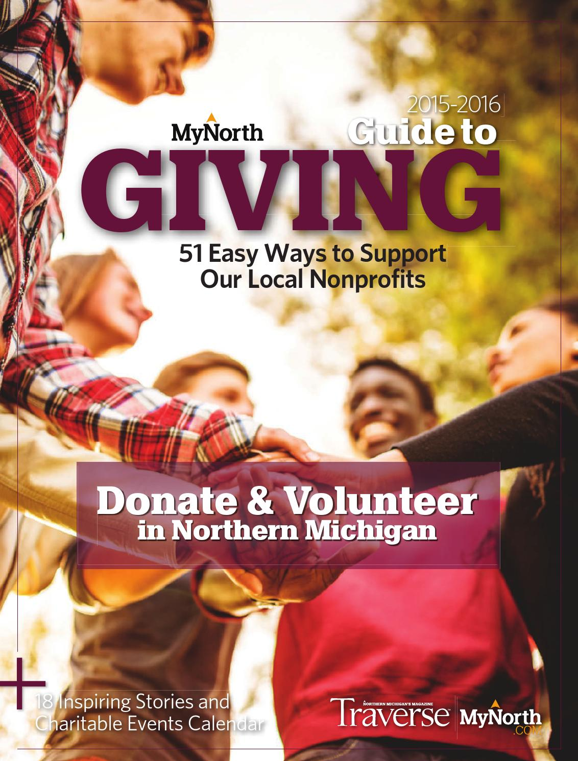 MyNorth Guide to Giving, 2015/2016 by MyNorth - issuu