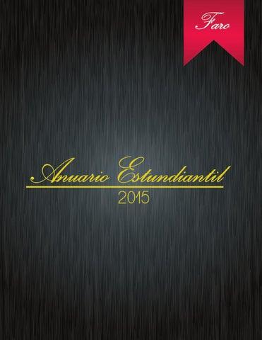Revista Faro Anuario 2015 By Liceo Guatemala Issuu