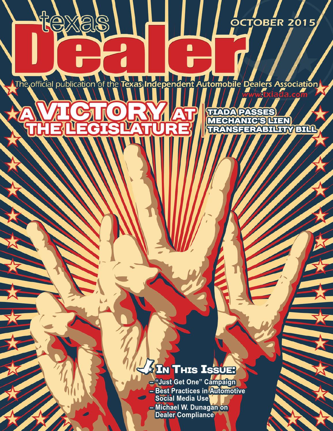 texas dealer october   texas independent auto dealers association issuu