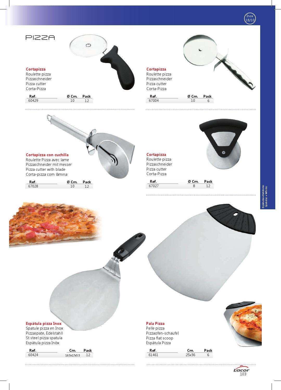 Pala pizza inox Lacor 61461