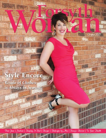 Forsyth Woman October 2015 By Forsyth Mags Issuu