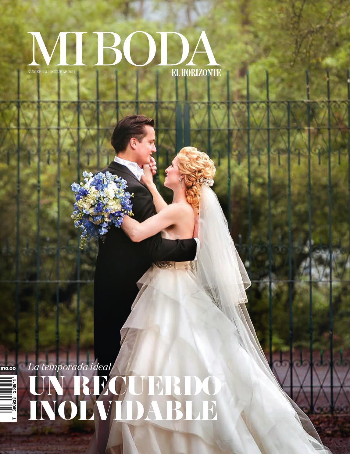 Mi Boda No.03 by Estilo de Vida El Horizonte - issuu