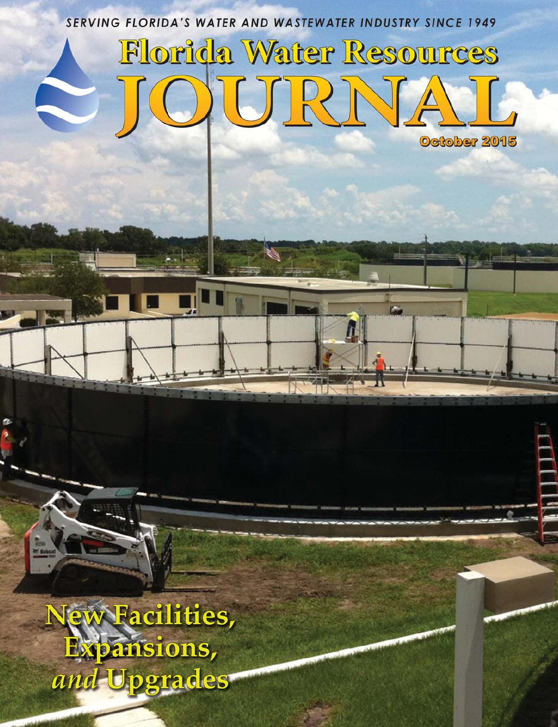 Florida Water Resources Journal October 2015 By Florida Water