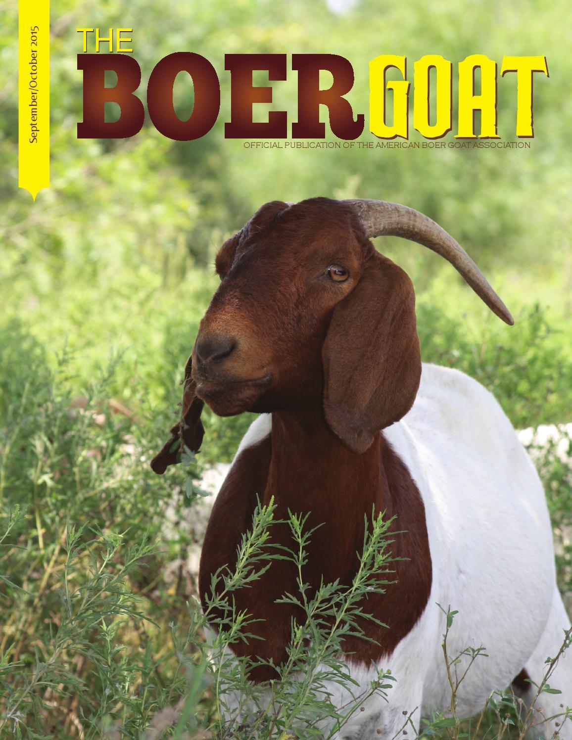 September October 2015 by American Boer Goat Association ... - photo#46