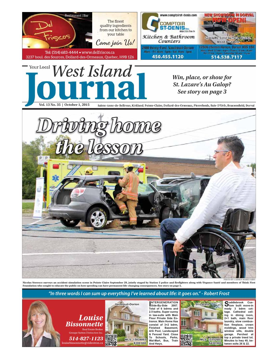 ae10fa36deb October 1 - YLJ West Island by Your Local Journal - issuu