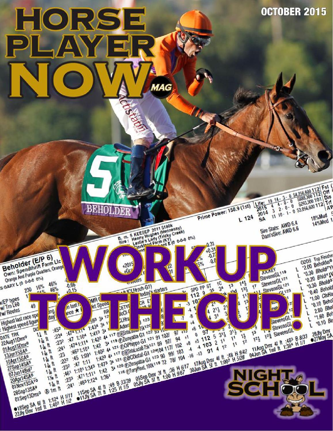 Hpnow Magazine October 2015 By Horse Player Now Issuu