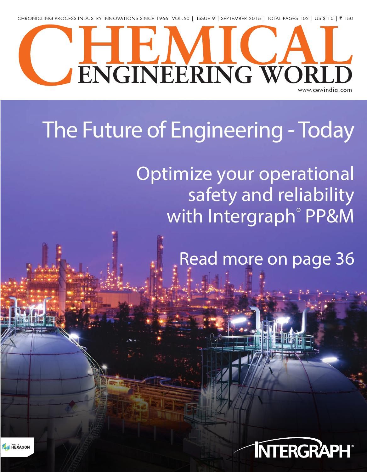 September 2015 by Chemical Engineering World - issuu