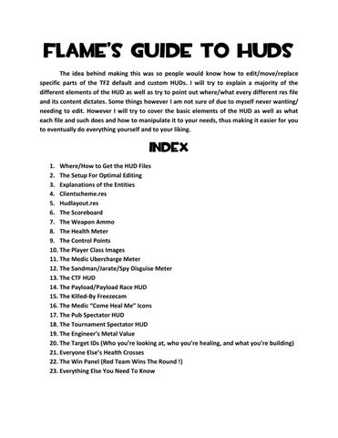 Flame's Guide to HUDs - flamehud by StefanB - issuu