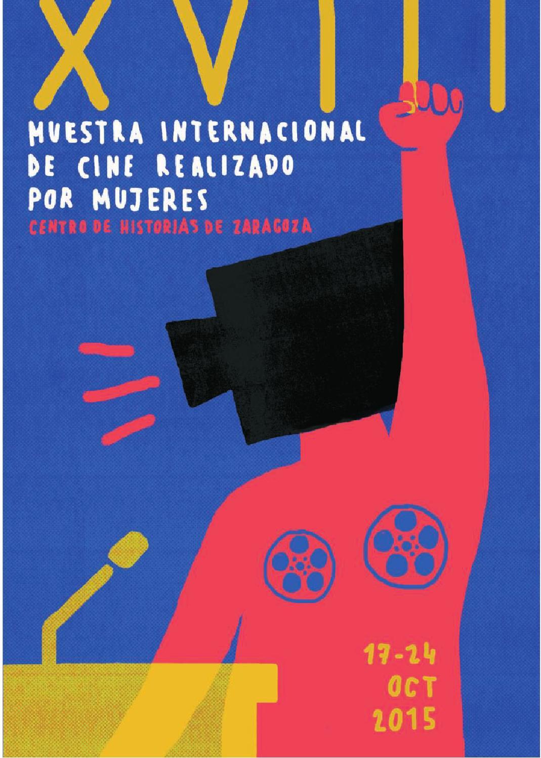 XVIII muestra programa2015 by Muestra Cine Mujeres Zaragoza - issuu