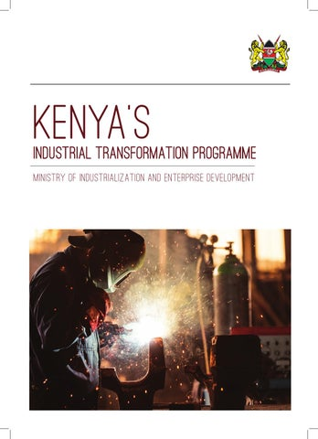 Image result for Kenya industrial Transformation Plan