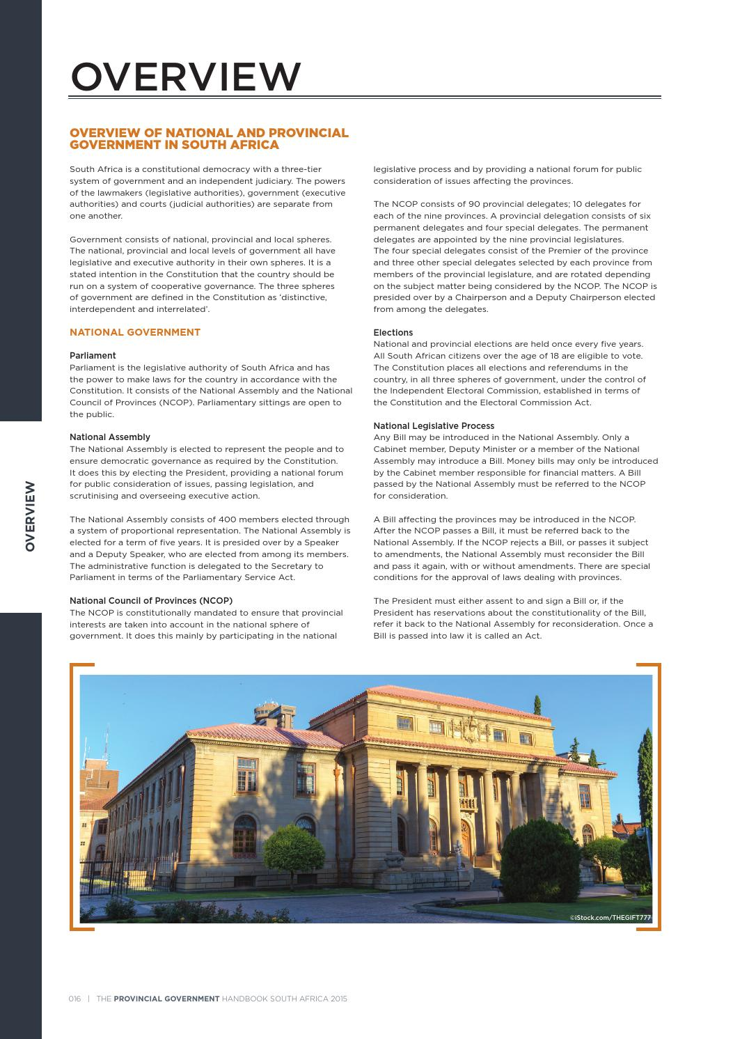Provincial Government Handbook - South Africa 2015 by Yes Media - issuu