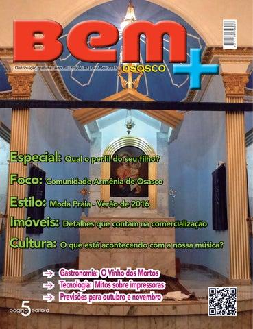 Bem + Osasco - Edição 43 - Out Nov 2015 by Revista Bem Mais Osasco ... ed4aef9316845