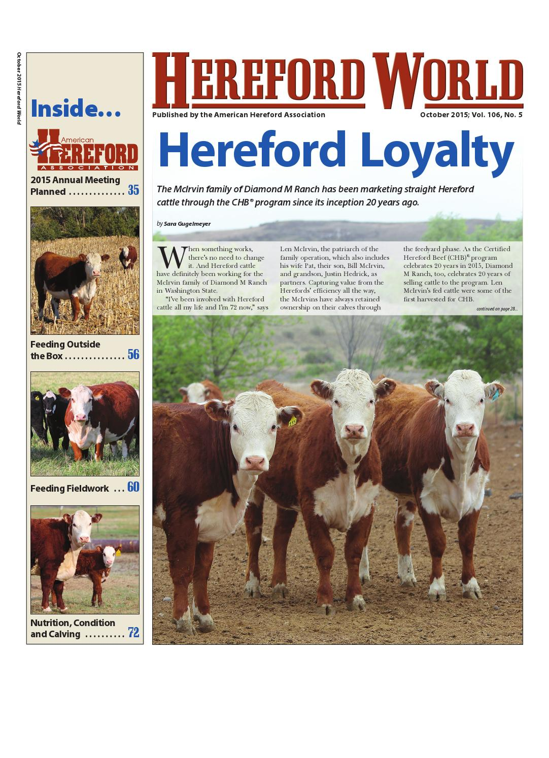 October 2015 hereford world by american hereford association and october 2015 hereford world by american hereford association and hereford world issuu kristyandbryce Images