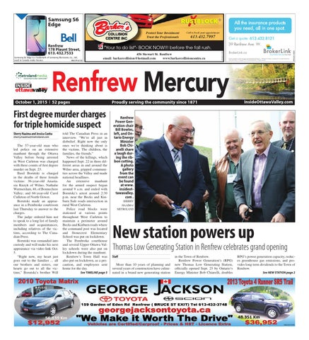 Renfrew100115 by Metroland East - Renfrew Mercury - issuu on