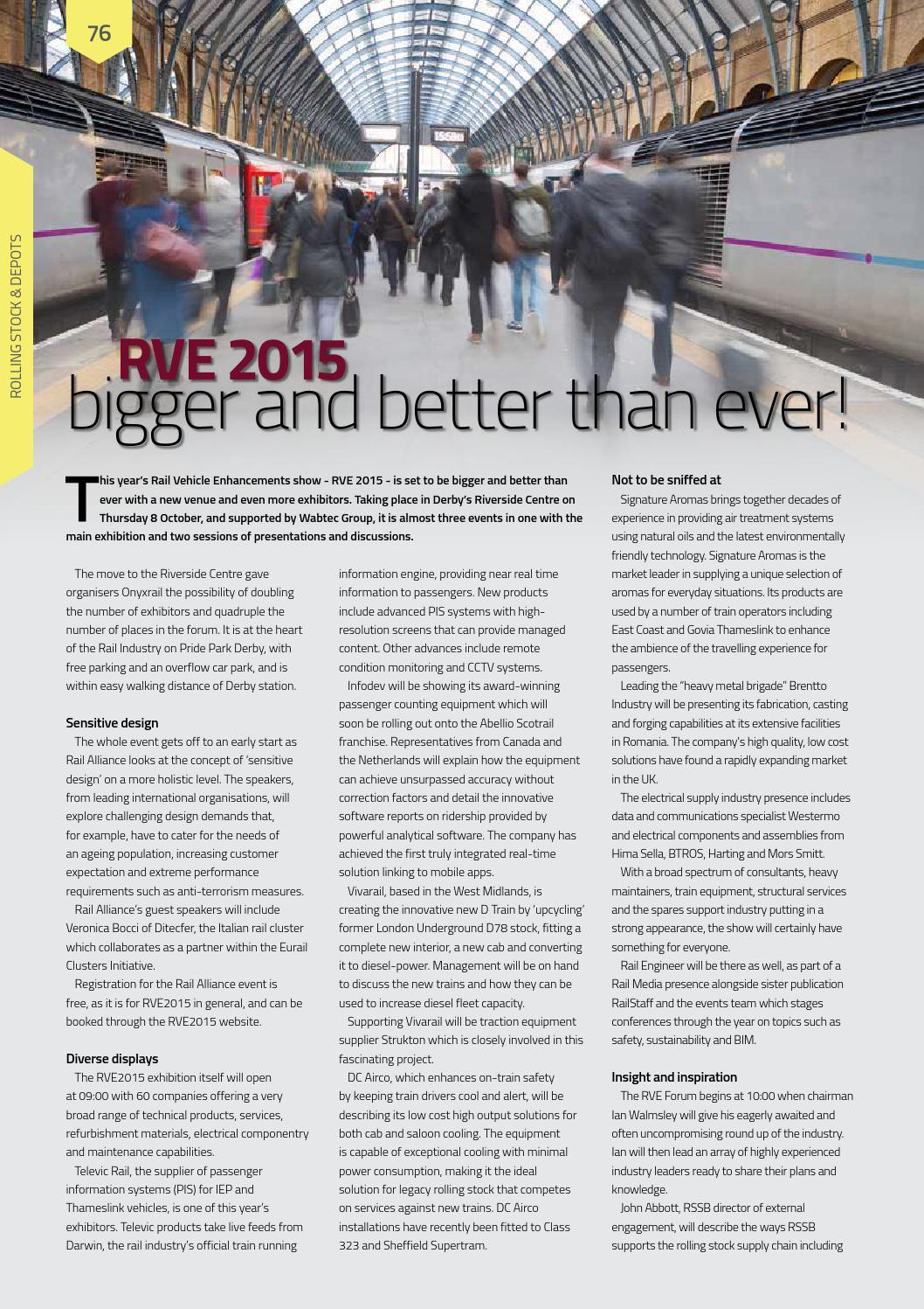 Rail Engineer - Issue 132 - October 2015 by Rail Media - issuu