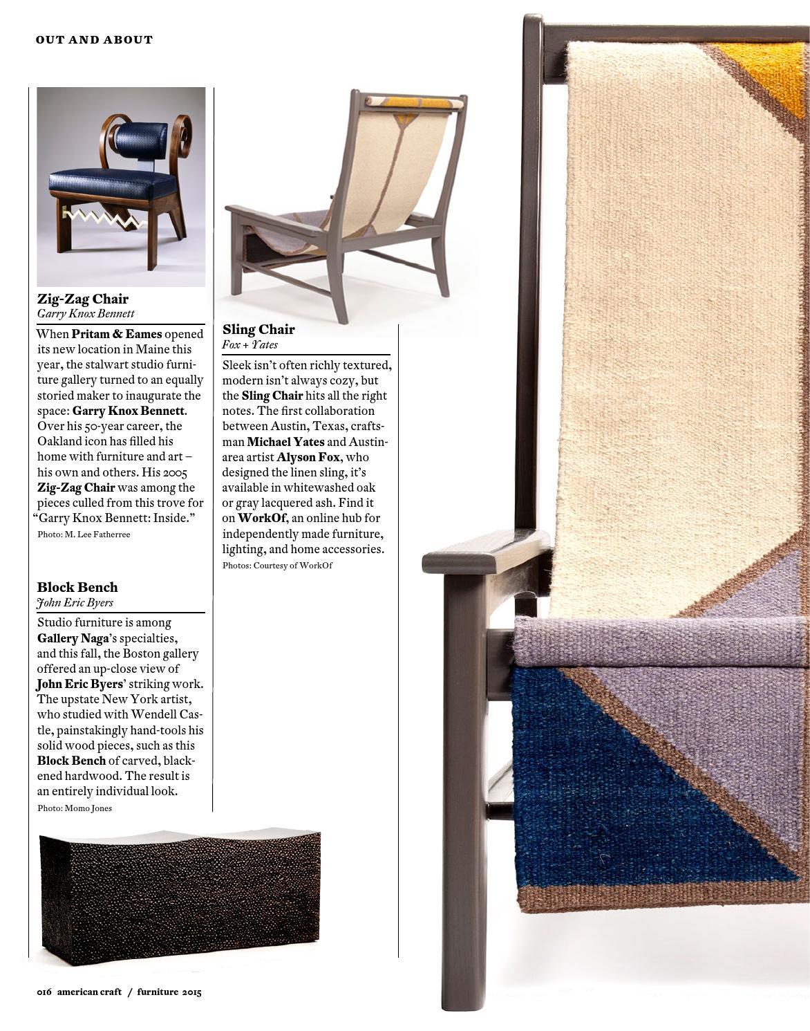 American Craft 2015 Digital Bonus: The Furniture Issue By American Craft  Council   Issuu