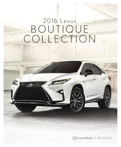 Lexus2016 english by Staples Promotional Products - issuu